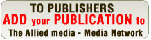 Add your publication to our newspapers and magazine database