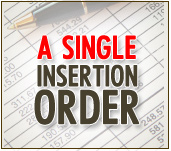 a single insertion order