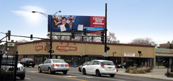 Out Door Billboard in chicago polish